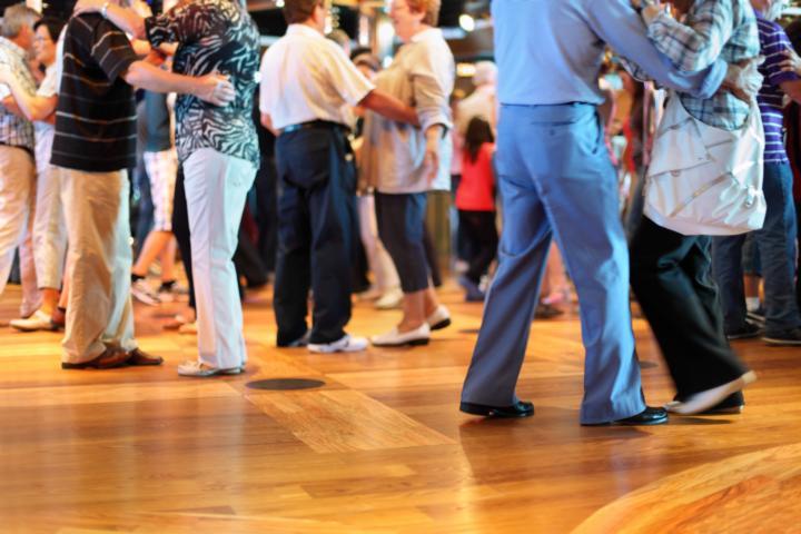 Ein Tanz Wochenende mit vielen Geleichgesinnten macht einfach Spaß